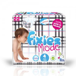 Baby diapers FIXIES MODE and JEANS