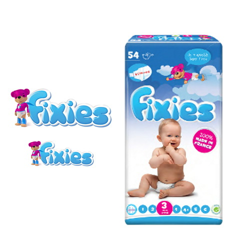 Baby diapers FIXIES
